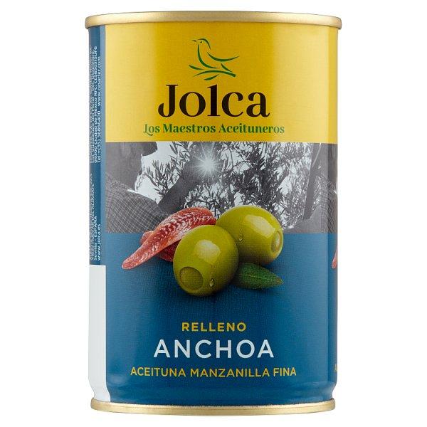 Jolca Oliwki zielone nadziewane anchois 300 g