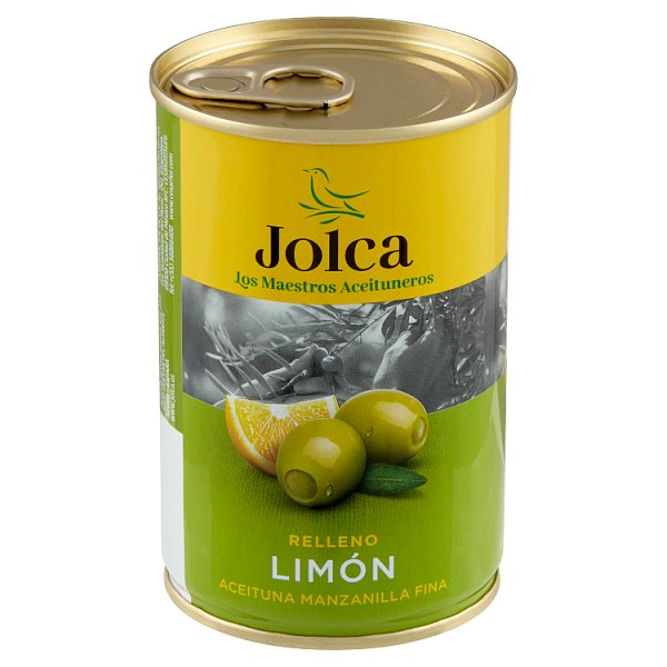 Jolca Oliwki zielone nadziewane cytryną 300 g