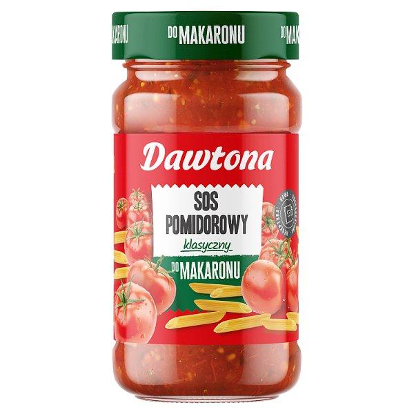 Dawtona Sos pomidorowy klasyczny do makaronu 550 g