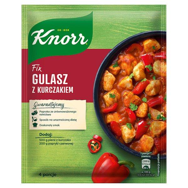 Knorr Fix Gulasz z kurczakiem 52 g