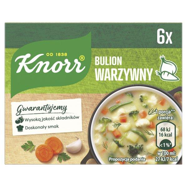 Knorr Bulion warzywny 60 g (6 x 10 g)