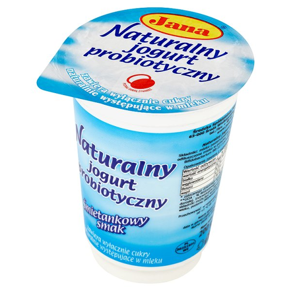 Jogurt Jana naturalny probiotyczny