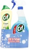 Cif mleczko lemon 500ml + cif spray do szyb 750ml
