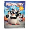 Bajki dvd pingwiny z madagaskaru z książką