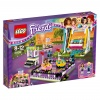 Klocki lego friends autka w parku rozrywki 41133