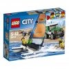 Lego city great vehicles terenówka 4x4 z katamaranem 60149