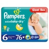 Pieluszki Pampers giant pack plus box extra large 6