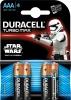 Baterie Duracell turbo Star Wars AAA 4szt/op