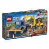 Lego city zamiatarka ulic i koparka 60152