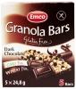 Baton bezglutenowy granola z czarna czekoladą