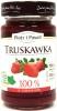 100% z truskawek produkt owocowy słodzony zag.sokiem winogronowym