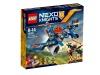 Klocki lego nexo knights myśliwiec v2 aarona 70320