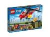 Lego helikopter strażacki 60108