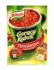 Gorący kubek Knorr pomidorowa z Makaronem