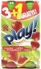Kubuś play marchew-jabłko-truskawka-limetka 4*400 ml