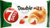 7 Days Doub!e Max Croissant z nadzieniem o smaku waniliowym i truskawkowym