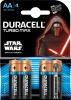 Baterie Duracell turbo Star Wars AA 4szt/op