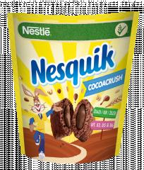 Nestlé Nesquik CocoaCrush Płatki śniadaniowe 350 g