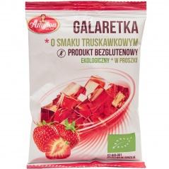 Galaretka o smaku truskawkowym bezglutenowa bio Amylon