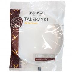 Talerzyki deserowe/8szt