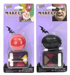 Akcesoria halloween zestaw do makijażu mix
