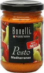 Pesto Bonelli paprykowe z serem ricotta