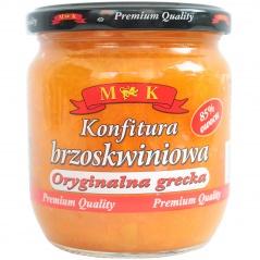 Konfitura M&k brzoskwiniowa