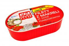 Filety z makreli era ryb w sos pomidorowym