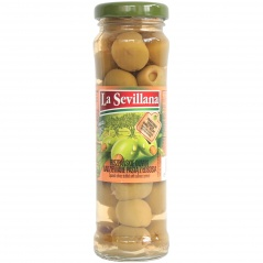 Oliwki La Sevillana z pastą łososiową