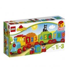 Lego Duplo pociąg z cyferkami 10847