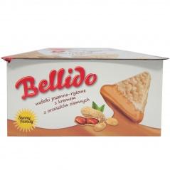 Bellido wafelki z kremem z orzeszków ziemnych