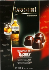 Pralinki z whisky teacher's