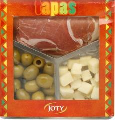 Tapas jamon-oliwki-ser hiszpania