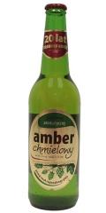 Piwo amber chmielowy butelka