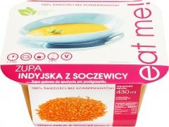 Zupa indyjska z soczewicy eat me
