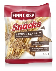 Pieczywo chrupkie z nasionami i solą morską  Benus