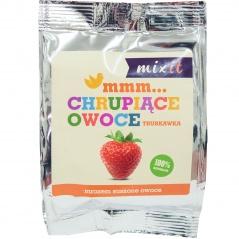 Chrupiące owoce truskawka mixit odżywka