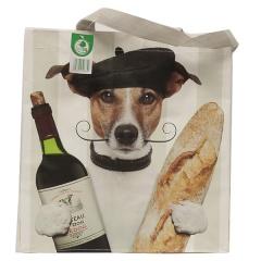 Torba zakupowa pies francuski