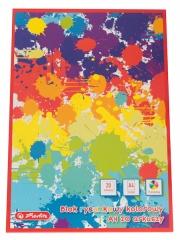 Blok rysunkowy kolorowy A4 20 arkuszy