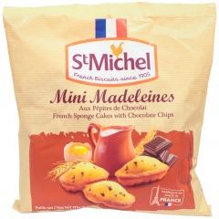 Mini babeczki Madeleines z kawałkami czekolady