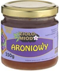 Miód ziołowo-aroniowy