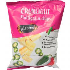 Crunlight multigrain chips jalapeno