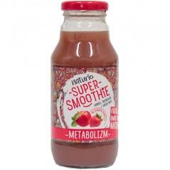 Napój super smoothie jabłko truskawka green mate metabolizm