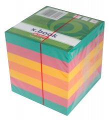 Notes kostka kartki w 4 kolorach 9x9x9cm Herliz