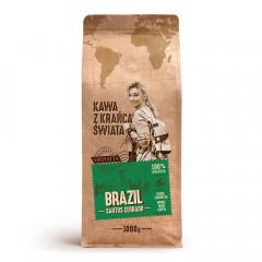 Kawa z krańca swiata brazil santos cerrado