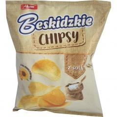Chipsy beskidzkie solone