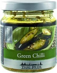 Chili siekane zielone w oleju