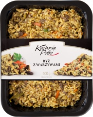 Ryż z warzywami Obiady Mamy
