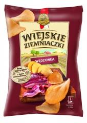 Chipsy Wiejskie Ziemniaczki o smaku wędzonki staropolskiej