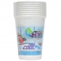 Kubeczki plastikowe - cars formuła